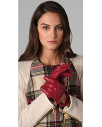 Rag & Bone - The Quilted Driving Gloves - Lyst