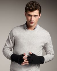 Theory - Fingerless Gloves - Lyst