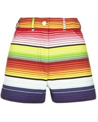 House of Holland - High Waisted Shorts - Lyst