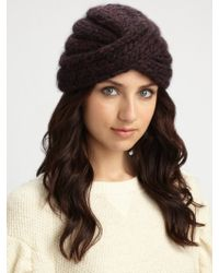 Eugenia Kim Dominique Hand-knit Turban Hat - Lyst