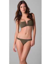 Mara Hoffman V Wire Bikini - Lyst