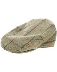 Barbour - Check Flat Cap - Lyst