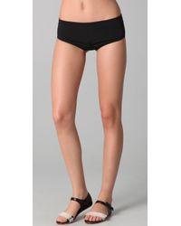 3.1 Phillip Lim - Boy Short Bikini Bottoms - Lyst
