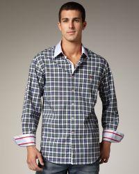 Robert Graham Mcklintock Check Sport Shirt - Lyst