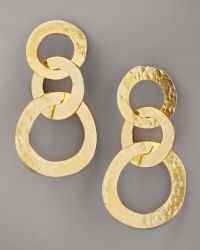 Herve Van Der Straeten - Three-circle Earrings - Lyst