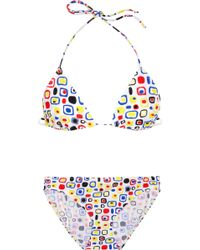 Pret-a-surf - Two-Piece Printed Bikini - Lyst