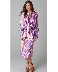 Tribune Standard - Peasant Dress - Lyst