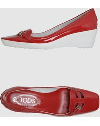 Tod's  Wedges - Lyst