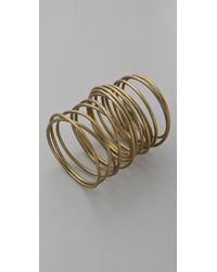 Kelly Wearstler - Twisted Brass Bracelet - Lyst