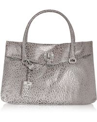 Roccobarocco - Sally - Croco-stamped Satchel Bag - Lyst