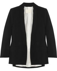 girl. by Band of Outsiders Crepe Blazer black - Lyst