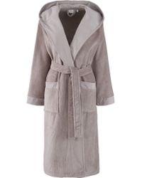 John Lewis - John Lewis Women Velour Robe, Toast - Lyst