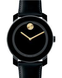 Movado Large Bold Metallic Marker Watch - Lyst
