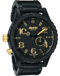 Nixon The 51-30 Mens Bracelet Watch - Lyst