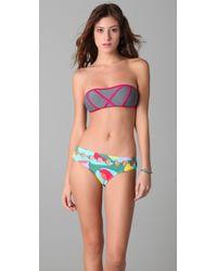 Brette Sandler Swimwear | Molly Bandeau Bikini | Lyst