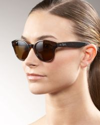 Ray-Ban Large Rounded Wayfarer Sunglasses - Lyst