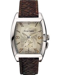 Tommy Bahama | Islander Braided Leather Strap Watch | Lyst