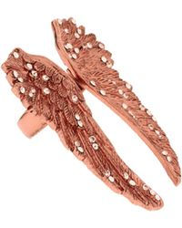 Wildfox - Gold Winged Ring - Lyst