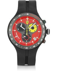Ferrari - Red Jumbo Corsa 150th Anniversary Watch - Lyst
