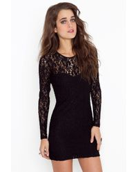 Nasty Gal Motel Elsa Dress - Lyst