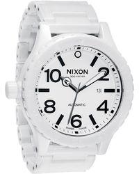 Nixon The Ceramic 51-30 Watch - Lyst