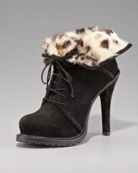 Elizabeth and James - Fur-lined Ankle Boot - Lyst