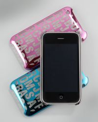 Marc By Marc Jacobs Jumbled Logo I-phone 3g Cover - Lyst