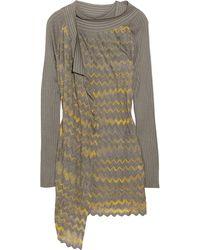 M Missoni Woven and Crochet Cardigan Set - Lyst