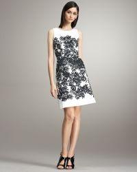 Peter Som - Bamboo-print Dress - Lyst