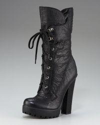 Vera Wang Lavender - Platform Lace-up Boot - Lyst