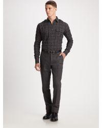 Ralph Lauren Black Label Rover Military Shirt - Lyst