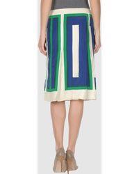 Celine 3 4 Length Skirts - Lyst
