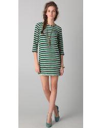 Peter Som - Hand Painted Stripe Dress - Lyst