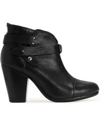 Rag & Bone Harrow Boot Black - Lyst