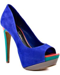 Jessica Simpson Sheri - Blue Iris - Lyst