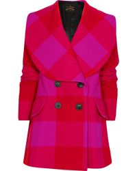 Vivienne Westwood Anglomania Circle Wool-blend Coat - Lyst