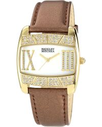 Badgley Mischka | Crystal & Mother-of-pearl Watch | Lyst