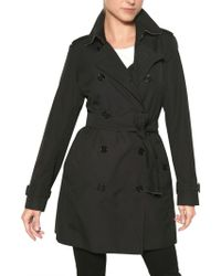Burberry Buckingham Cotton Gabardine Trench Coat - Lyst