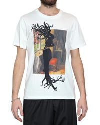 Dead Meat - Tree Raw Cut Jersey T-shirt - Lyst