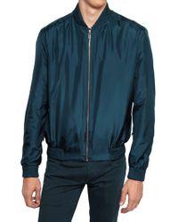 Dior Homme Waterproof Silk Taffeta Sport Jacket - Lyst