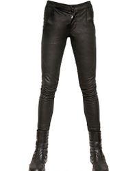 Gareth Pugh | Canadian Metis Leather Leggings Trousers | Lyst