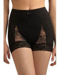 ModCloth Bold Hollywood Panties in Black - Lyst