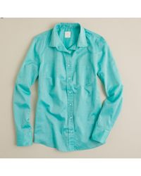 J.Crew Boy Shirt in Indian Voile - Lyst