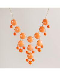 J.Crew Bubble Necklace - Lyst