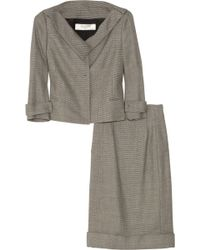 Valentino Roma Stretch-Twill Skirt Suit - Lyst