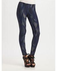McQ by Alexander McQueen Printed Leggings - Lyst
