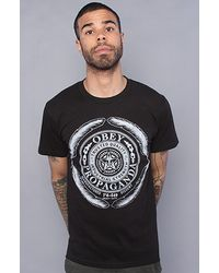 Obey The Industrial Strength Basic Tee - Lyst