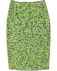 Proenza Schouler Hologram Sequined Silk Pencil Skirt - Lyst