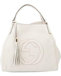 Gucci Soho Tote Bag white - Lyst