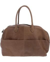 A Brand Apart - Leather Weekend Bag - Lyst
